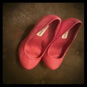 Red Steve Madden Stiletto Heels